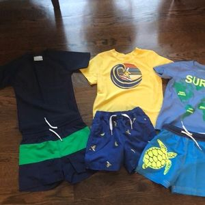Boys too brand size 3 swim bundle, like new!